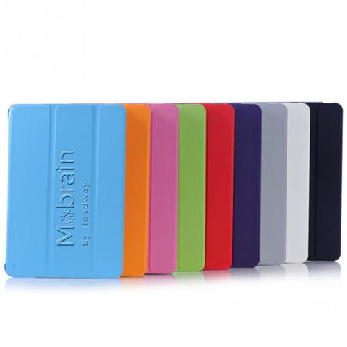 Wake-Up Stand Fold Leather Case Image 1