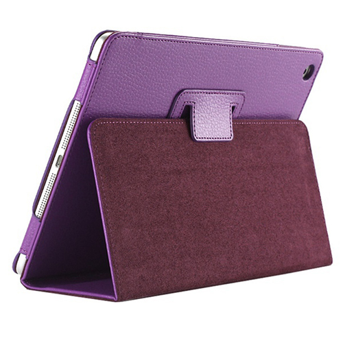 Leather Magnetic Sleep Wake UP iPad Mini Cover Image 3