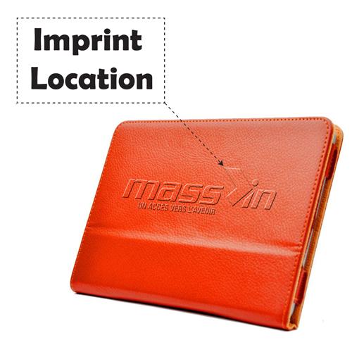 Leather Magnetic Sleep Wake UP iPad Mini Cover Imprint Image