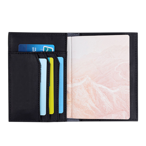 Genuine Passport Passport Holder Wallet Image 4