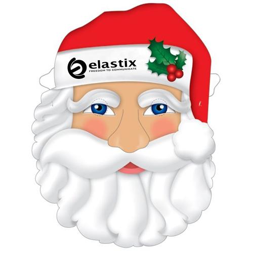 Custom Santa Mask With Elastic Band