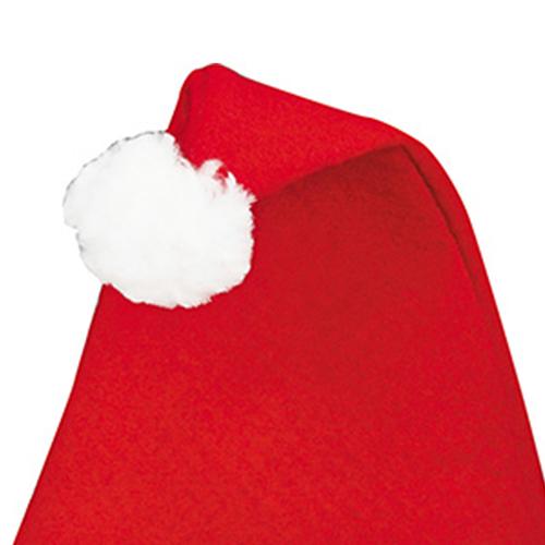 Jolly Felt Santa Hat Image 1