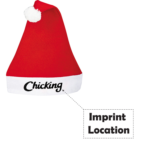 Jolly Felt Santa Hat Imprint Image