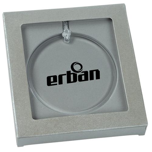 Round Acrylic Ornament Image 1