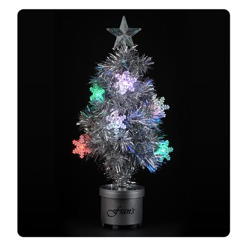 Silver Light Up Tree