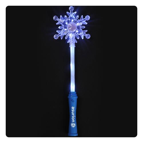Light Up LED Snowflake Wand