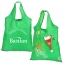 Stocking Folding Tote With Drawstring Closure Image 1
