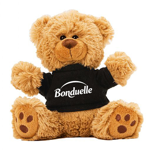Plush Teddy Bear With T-Shirt Image 1
