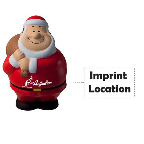 Santa Bert Squeezy Stress Reliever Imprint Image
