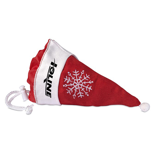 Foldable Shopping Bag In Mini Christmas Hat Image 1