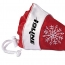 Foldable Shopping Bag In Mini Christmas Hat Image 2