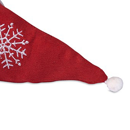 Foldable Shopping Bag In Mini Christmas Hat Image 3