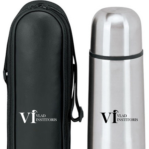 Thermo 17 Oz Flask With Case