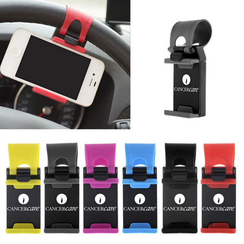 Steering Wheel Mount Phone Holder Image 1
