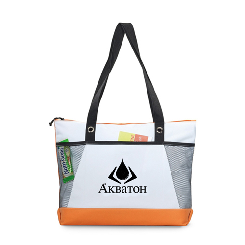 Venture Polyester Tote Bag