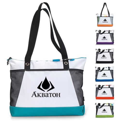 Venture Polyester Tote Bag