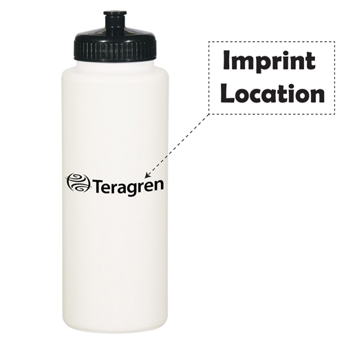 Super 32 Oz Sports Bottle Imprint Image