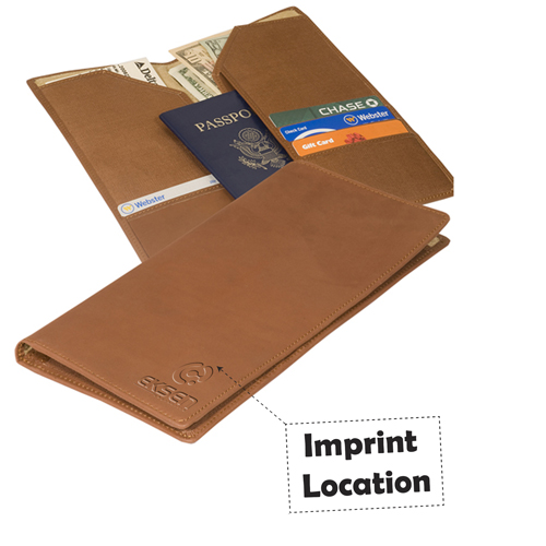 Superior Liberty Travel Wallet Imprint Image