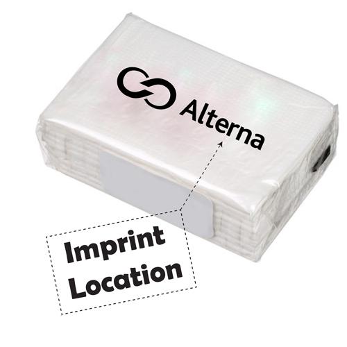 Mini Travel Tissue Pack Imprint Image
