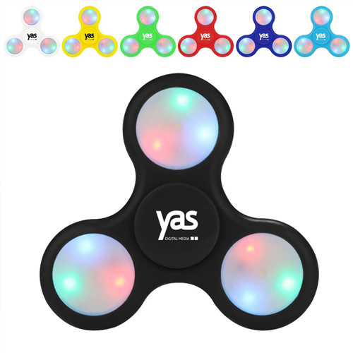 LED Lights Fidget Spinner Image 1