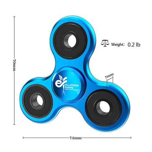 Custom Metal Aluminum Fidget Spinner Image 5