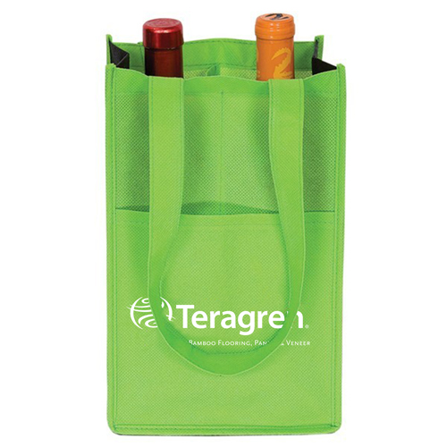 Eco-Friendly 2-Bottle Wine Bag