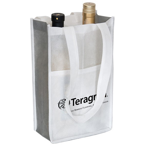 Eco-Friendly 2-Bottle Wine Bag Image 5