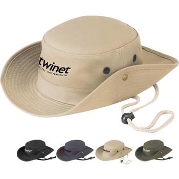قبعة دلو للصيد مصنوعة من نسيج القطن