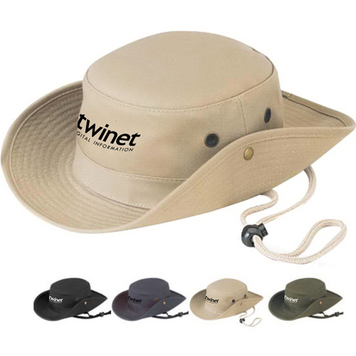 Cotton Twill Hunting Bucket Hat