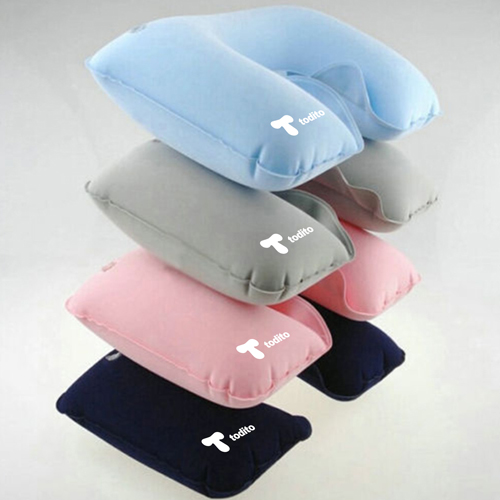 Inflatable Portable U-Shaped Neck Pillow Image 4