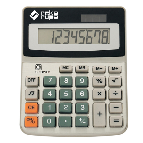 Desktop 8-Digit Solar Powered Calculator