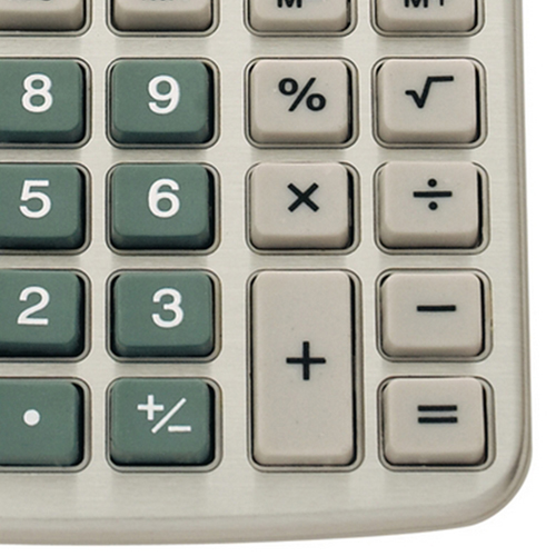 Desktop 8-Digit Solar Powered Calculator Image 1