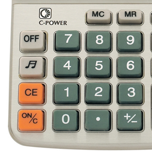 Desktop 8-Digit Solar Powered Calculator Image 2