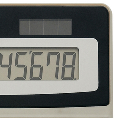Desktop 8-Digit Solar Powered Calculator Image 4