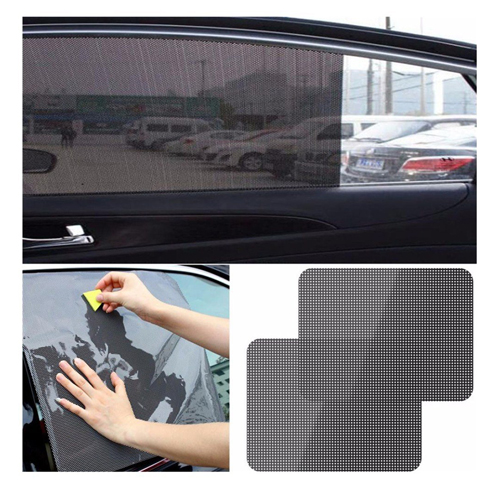 Rear Window Car Static Cling Sun Shade