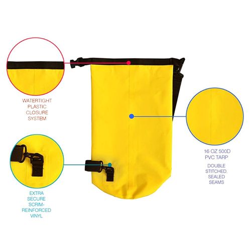 Roll Top Waterproof Floating Dry Bag Image 4