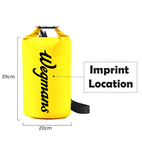 Roll Top Waterproof Floating Dry Bag Imprint Image
