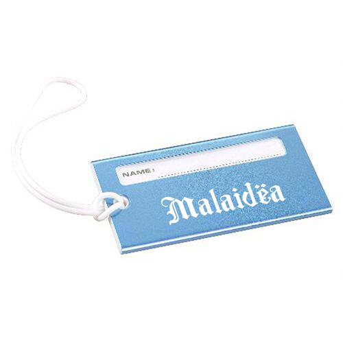 Bright Metallic Luggage Tag Image 1