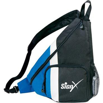 Side Dip Sling Backpack With Cross Strap
