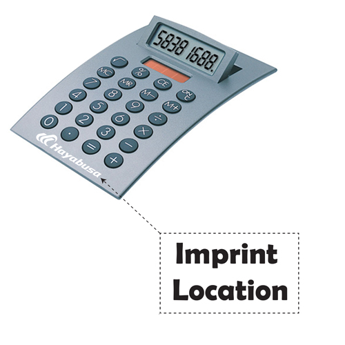 Dual Power Arc Calculator Imprint Image