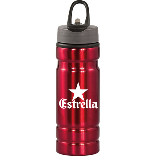 Sleek Design 24 Oz Aluminum Bottle