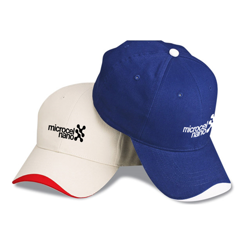 Wave Pre-Curved Baseball Cap Image 1