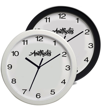 Horloge murale surdimensionnée personnalisée de 12 pouces