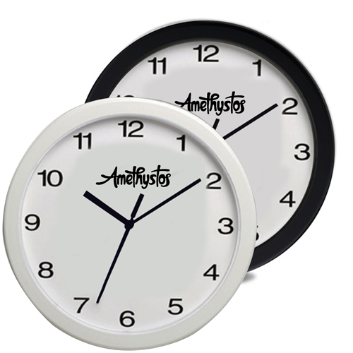 Personalized 12 Inch Oversized Wall Clock