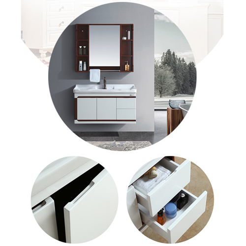 High-Grade Bathroom Vanity with Basin