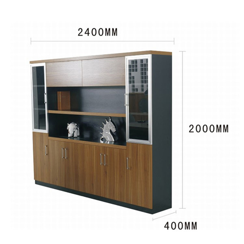 Wooden Office File Storage Cabinet Image 10