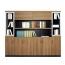 Wooden Office File Storage Cabinet