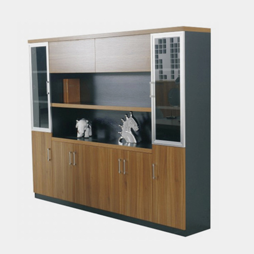 Wooden Office File Storage Cabinet Image 1