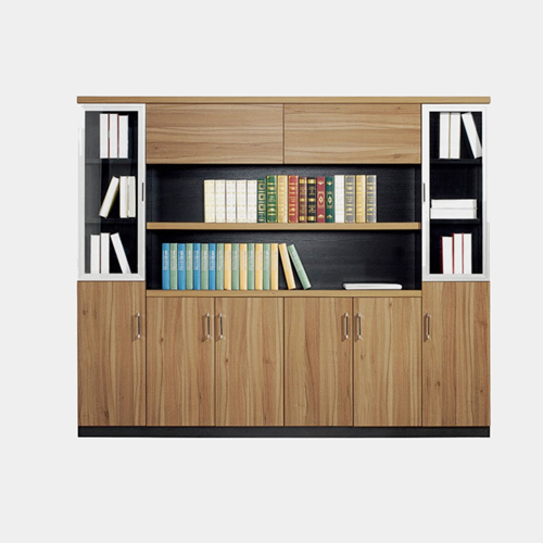 Wooden Office File Storage Cabinet Image 2