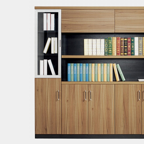 Wooden Office File Storage Cabinet Image 3